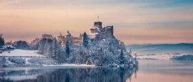 Sylwester w Pieninach – trekking, kulig i zamek Niedzica! [Szczyt KGP]