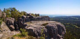 Weekend wśród skał – Góry Stołowe! [Szczyt KGP]